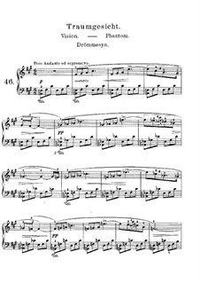 Lyric Pieces, Op.62: No.5 Phantom by Edvard Grieg