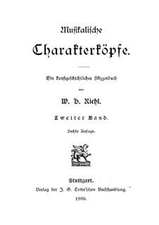 Musikalische Charakterköpfe: Band II by Wilhelm Heinrich Riehl