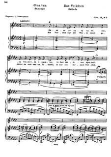 Six Poems after Goethe, Op.18: No.5 The Violet by Nikolai Medtner