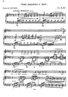 Poems after Fet, Bryusov and Tyutchev, Op.28: No.6 by Nikolai Medtner