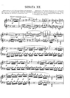 Sonata for Piano in B Flat Major, K.Anh.136: For a single performer by Wolfgang Amadeus Mozart
