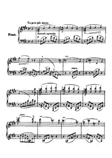 Consolations, S.172: No.2 in E Major by Franz Liszt