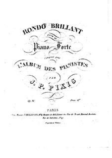Rondo Brilliant: Rondo Brilliant by Johann Peter Pixis