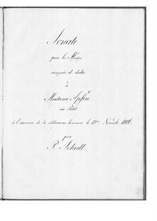 Sonata in B Flat Major: Sonata in B Flat Major by Peder Schall