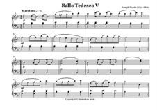 Ballo Tedesco: Nr.5 by Joseph Haydn