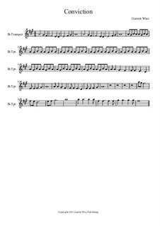 Conviction, Op.1: Trumpet part by Garrett Wise