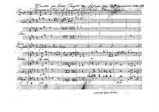Concerto for Viola and Orchestra in D Major (Unfinished), BI 542: Concerto for Viola and Orchestra in D Major (Unfinished) by Alessandro Rolla