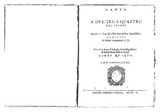 Motets, Op.11: Motets by Giovanni Rovetta