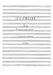 Douze angloises et une valse: Douze angloises et une valse by Christopher Ernst Friedrich Weyse