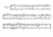 Six Voluntaries for Organ (or Harpsichord): Voluntary No.3 by John Beckwith
