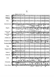 Movement I: Full score by Antonín Dvořák