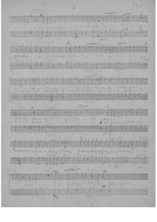 Two Songs for Male Choir, EG 169: No.1 Min deiligste tanke by Edvard Grieg