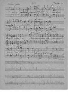 Two Songs for Male Choir, EG 169: No.2 Vårt løsen by Edvard Grieg