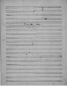 Foran Sydens Kloster, Op.20: Piano-vocal score by Edvard Grieg