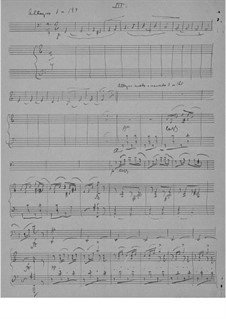 Sonata for Cello and Piano in A Minor, Op.36: Movement III by Edvard Grieg