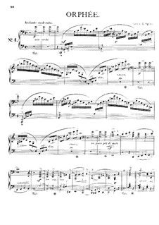 Symphonic Poem No.4 'Orpheus' for Orchestra, S.98: Version for piano by Franz Liszt