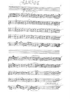 Armide, LWV 71: Full score by Jean-Baptiste Lully