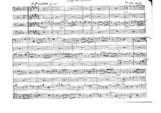 Fuga real canónica for String Quartet: Full score by Vicente Martorell