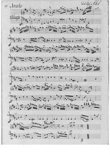 Sonata in D Major for Flute (or Oboe, or Violin) and Basso Continuo: Sonata in D Major for Flute (or Oboe, or Violin) and Basso Continuo by Carl Friedrich Abel