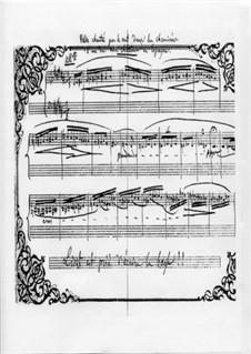 Valse chantée par le vent dans les cheminées d'un de mes châteaux en Espagne, H 131: Valse chantée par le vent dans les cheminées d'un de mes châteaux en Espagne by Hector Berlioz