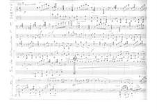 En la Alhambra. Serenade for Violin and Piano: Piano part by Tomás Bretón