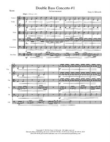Double Bass Concerto No.1: 3rd Movement by Gary Edwards