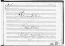 Alcide al Bivio: Part I by Johann Adolph Hasse