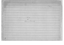 Sonata for Cello and Piano in A Minor: Sonata for Cello and Piano in A Minor by Peter Heise