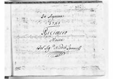 Ricimero re de' Goti: Act I by Niccolò Jommelli