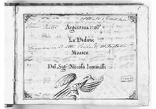 Didone abbandonata: Act I by Niccolò Jommelli