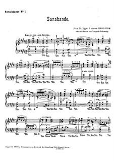 Sarabande: In E Major by Jean-Philippe Rameau