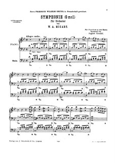 Movement I: For piano by Wolfgang Amadeus Mozart