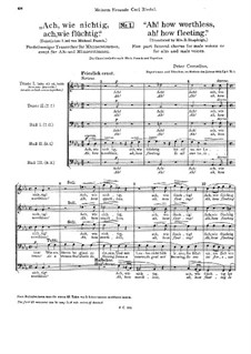Funeral Choirs, Op.9: All Movements by Peter Cornelius