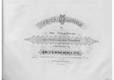 Five Songs, Op.18: Five Songs by Friedrich Curschmann