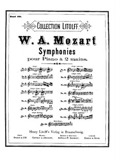 Symphony No.25 in G Minor, K.183: Arrangement for piano by Wolfgang Amadeus Mozart