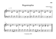 Regentropfen: Regentropfen by Norbert Sprave