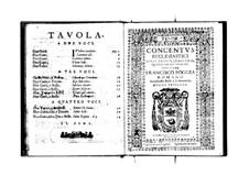 Concentus ecclesiastici: Tenor part by Franscesco Foggia