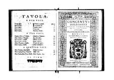 Concentus ecclesiastici: Altus part by Franscesco Foggia