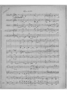 String Quintet in F Minor: String Quintet in F Minor by Niels Wilhelm Gade