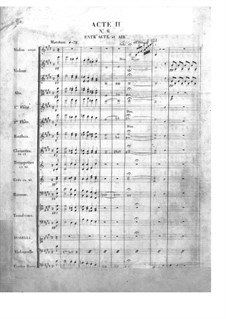 Le pré aux clercs (The Clerks' Meadow): Act II, No.6-7 by Ferdinand Herold