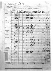 Le pré aux clercs (The Clerks' Meadow): Act II, No.8-9 by Ferdinand Herold