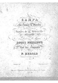Zampa, ou La fiancée de marbre (Zampa, or the Marble Bride): Overture by Ferdinand Herold