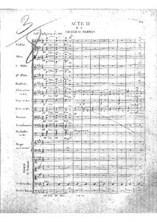Zampa, ou La fiancée de marbre (Zampa, or the Marble Bride): Act II, No.6-8 by Ferdinand Herold