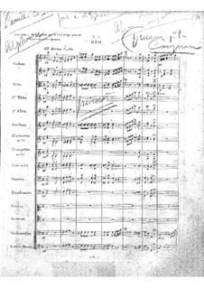 Zampa, ou La fiancée de marbre (Zampa, or the Marble Bride): Act II, No.9-10 by Ferdinand Herold
