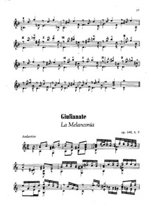 Giulianate for Guitar, Op.148: No.7-8 by Mauro Giuliani