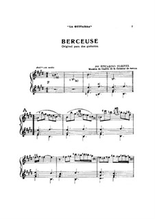 Berceuse. Piece for Two Guitars: Berceuse. Piece for Two Guitars by Eduardo Torres