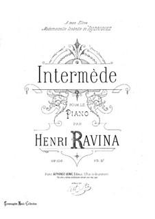 Intermède, Op.108: Intermède by Jean-Henri Ravina