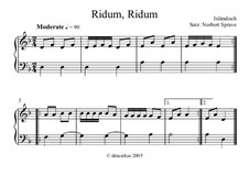 Ridum, Ridum: Ridum, Ridum by folklore