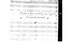 Sonata for Two Mandolins (G Major): Sonata for Two Mandolins (G Major) by Emanuele Barbella