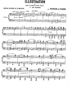Illustration for 'Messe solennelle' by Gounod: Illustration for 'Messe solennelle' by Gounod by Renaud de Vilbac